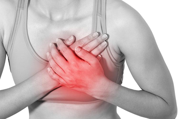 Боли в груди: причины, характер, лечение