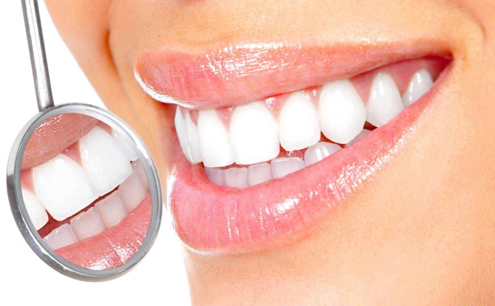 чистка зубов и отбеливание разница