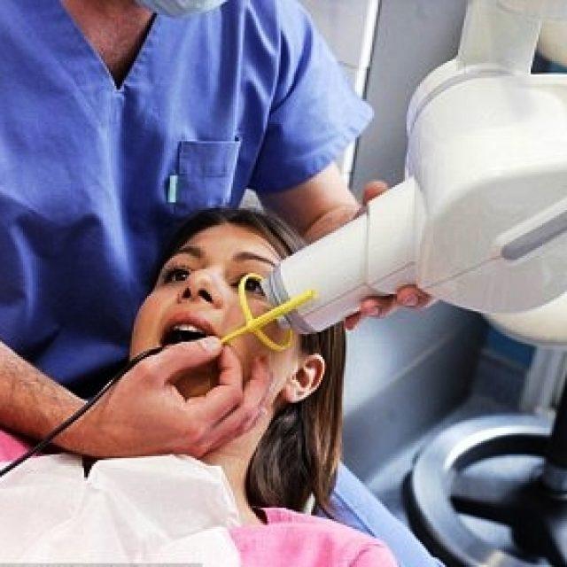 Сделать снимок зуба беременным