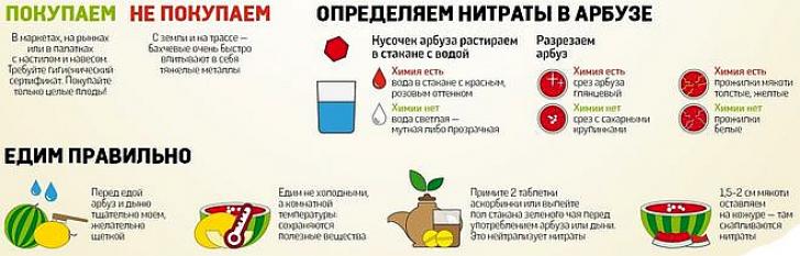 [Что такое нитраты в арбузе в домашних условиях