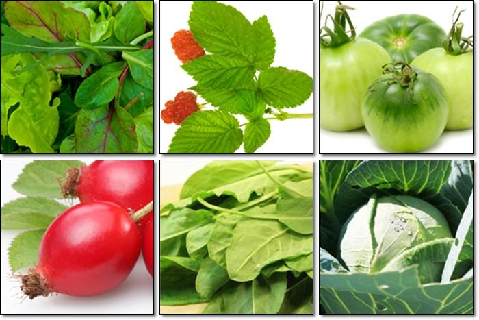 В каких продуктах много витамина К