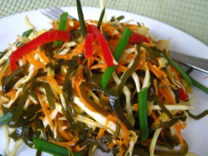 Морской капуста салат