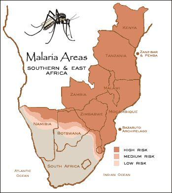 Малярия африка