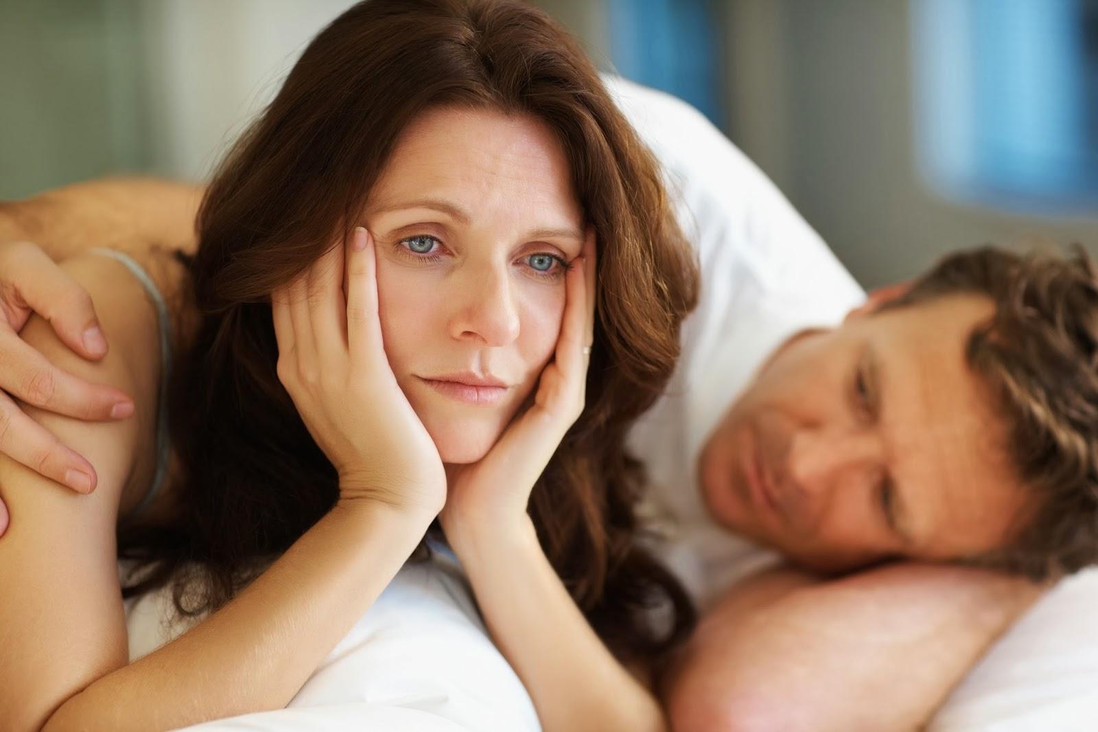 Климакс уменьшается чувствительность влагалища во время секса