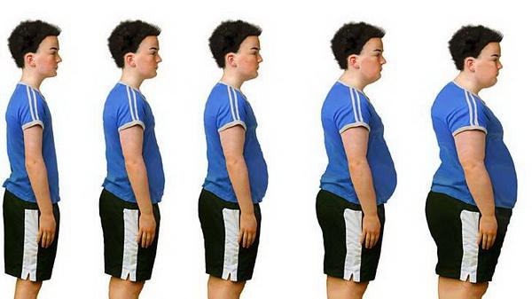 Избыточный вес оказывает отрицательное влияние на весь организм.