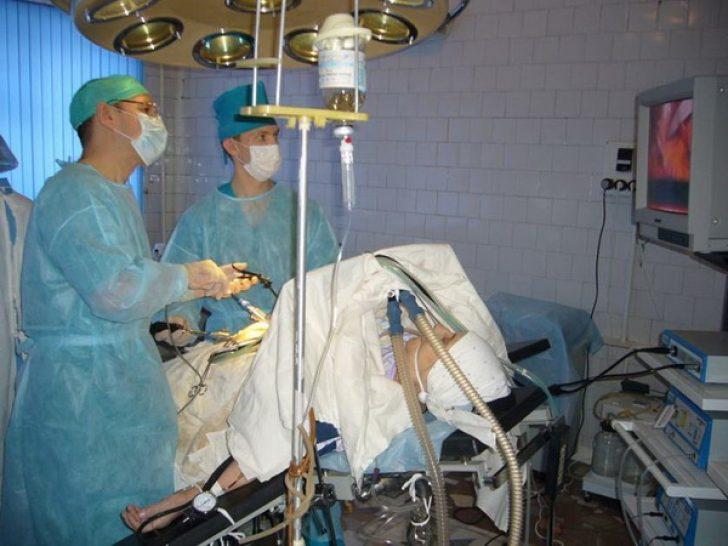 фото операции на поджелудочной железе