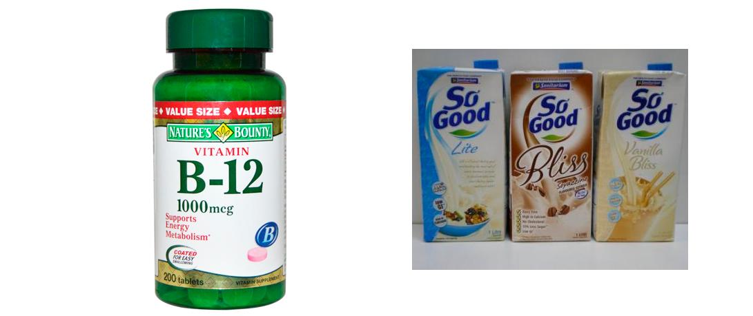 Источники витамина B12 для веганов
