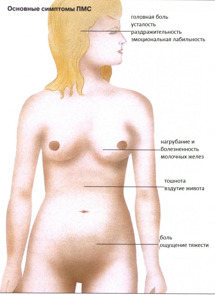 Симптомы и признаки ПМС