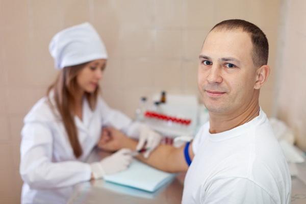 Анализ общего простатического специфического антигена (ПСА)
