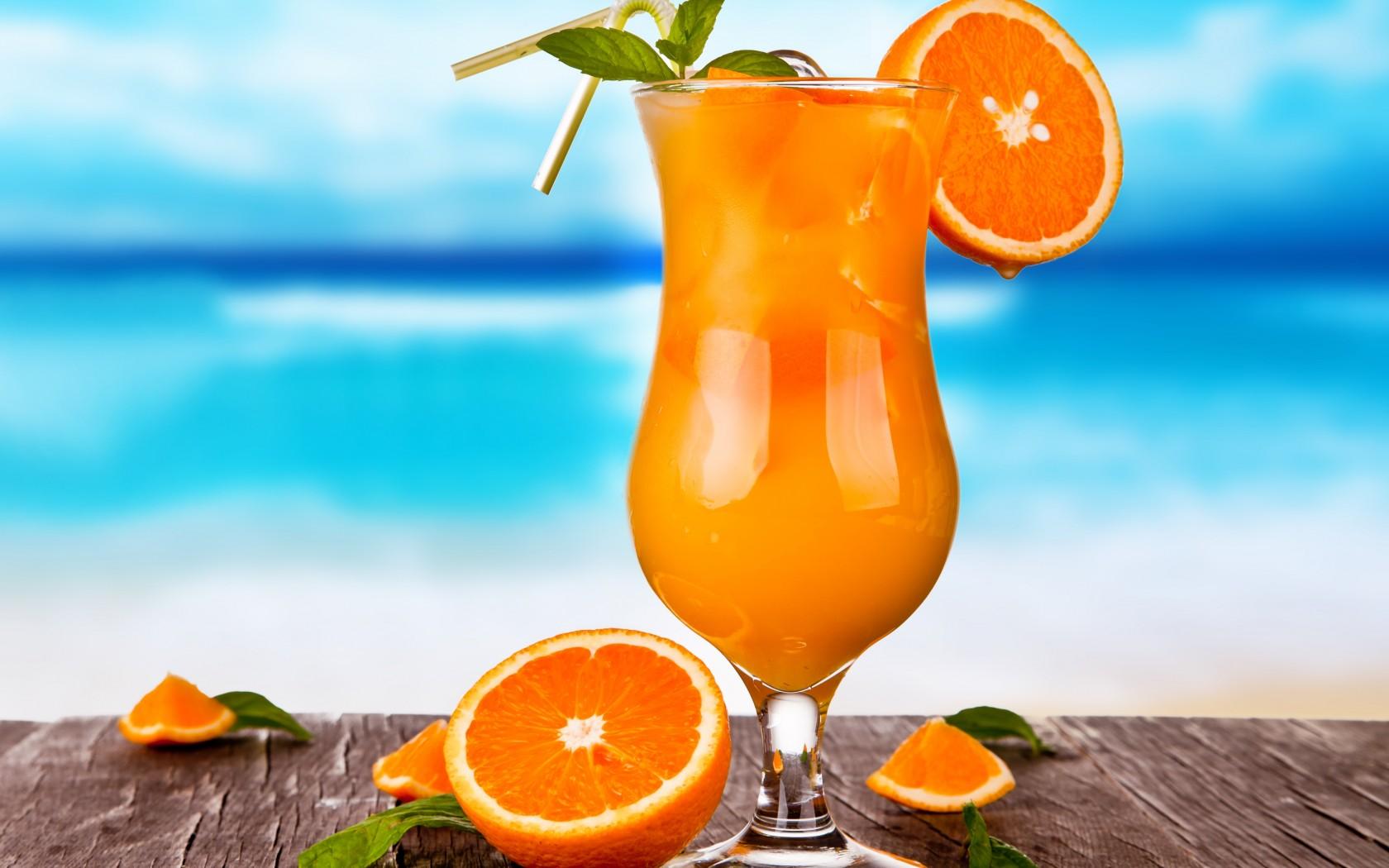 Вредные свойства апельсинового фреша