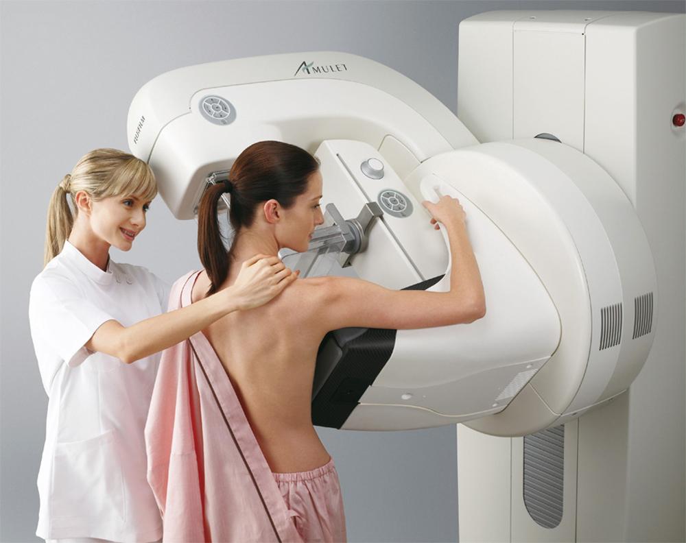 Рентгенологические методы обследования грудных желез