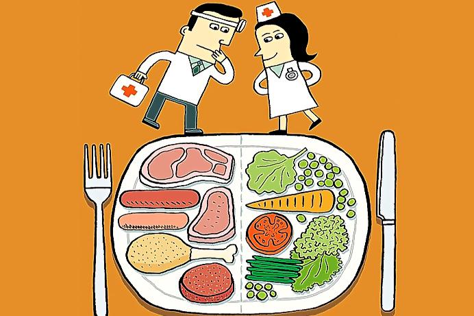 Возможный вред вегетарианства и  противопоказания