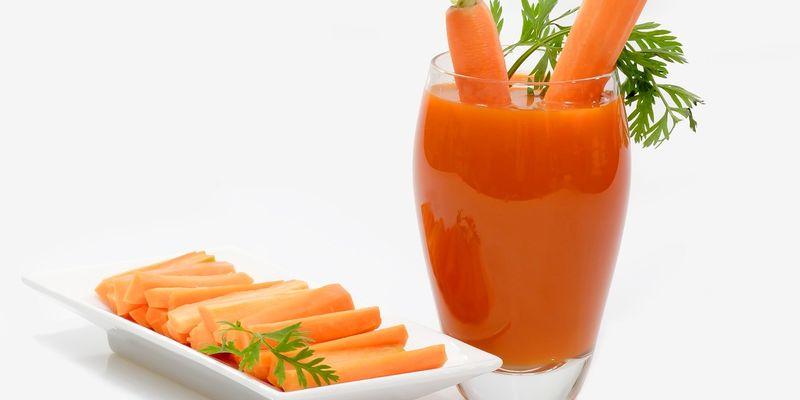 Полезные свойства морковного фреша