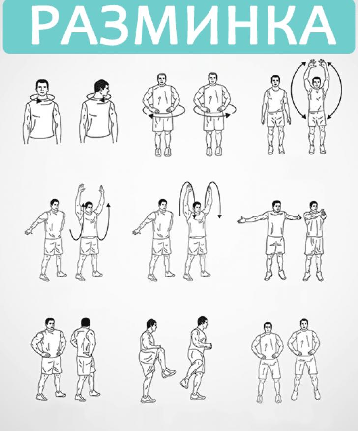 Как сделать разминку перед тренировкой в тренажерном зале