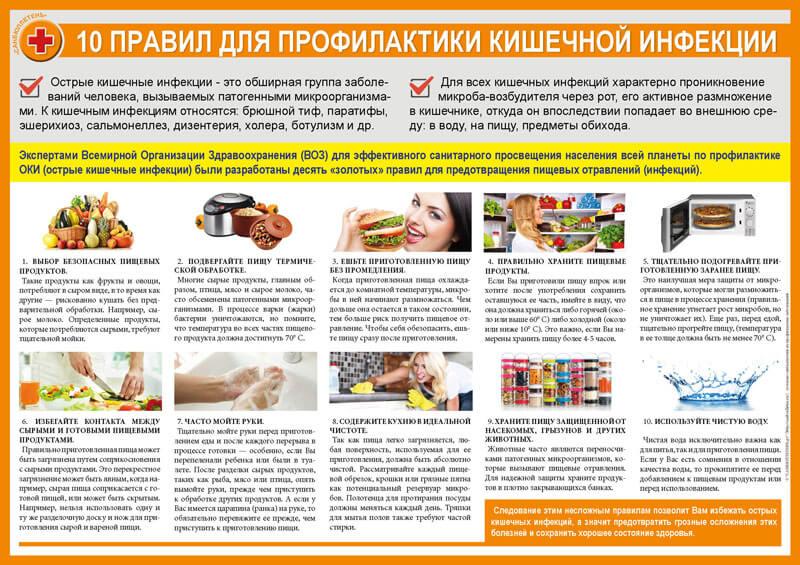 Диета для детей после ротавирусной инфекции