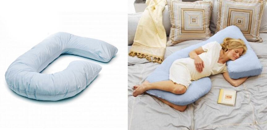 Подушки для беременных в форме буквы г