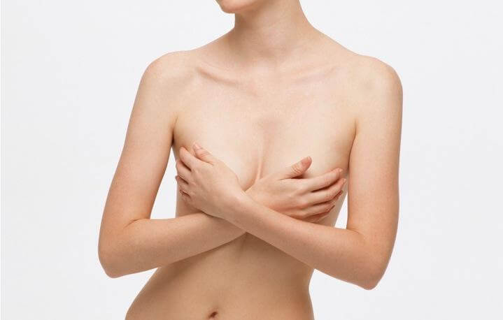 Втянутый сосок одной груди