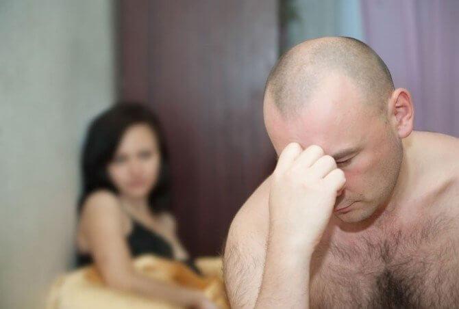 Неудачи в сексе при смене партнера
