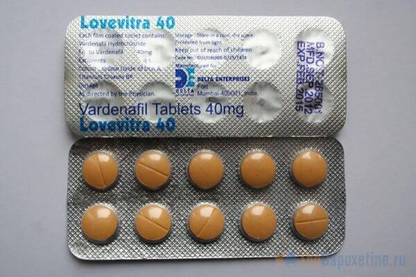 препараты для повышения потенции левитра