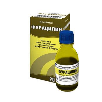 фурацилин водный раствор инструкция по применению для