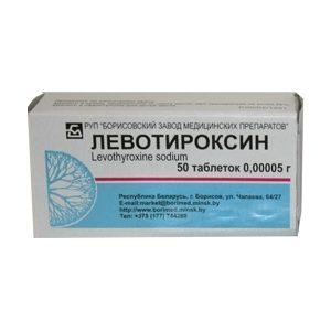 levotiroxin