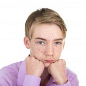 Прыщи у подростка мальчика