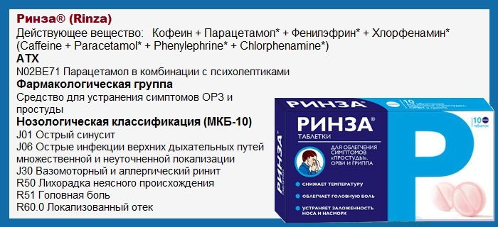 rinza-tabletki