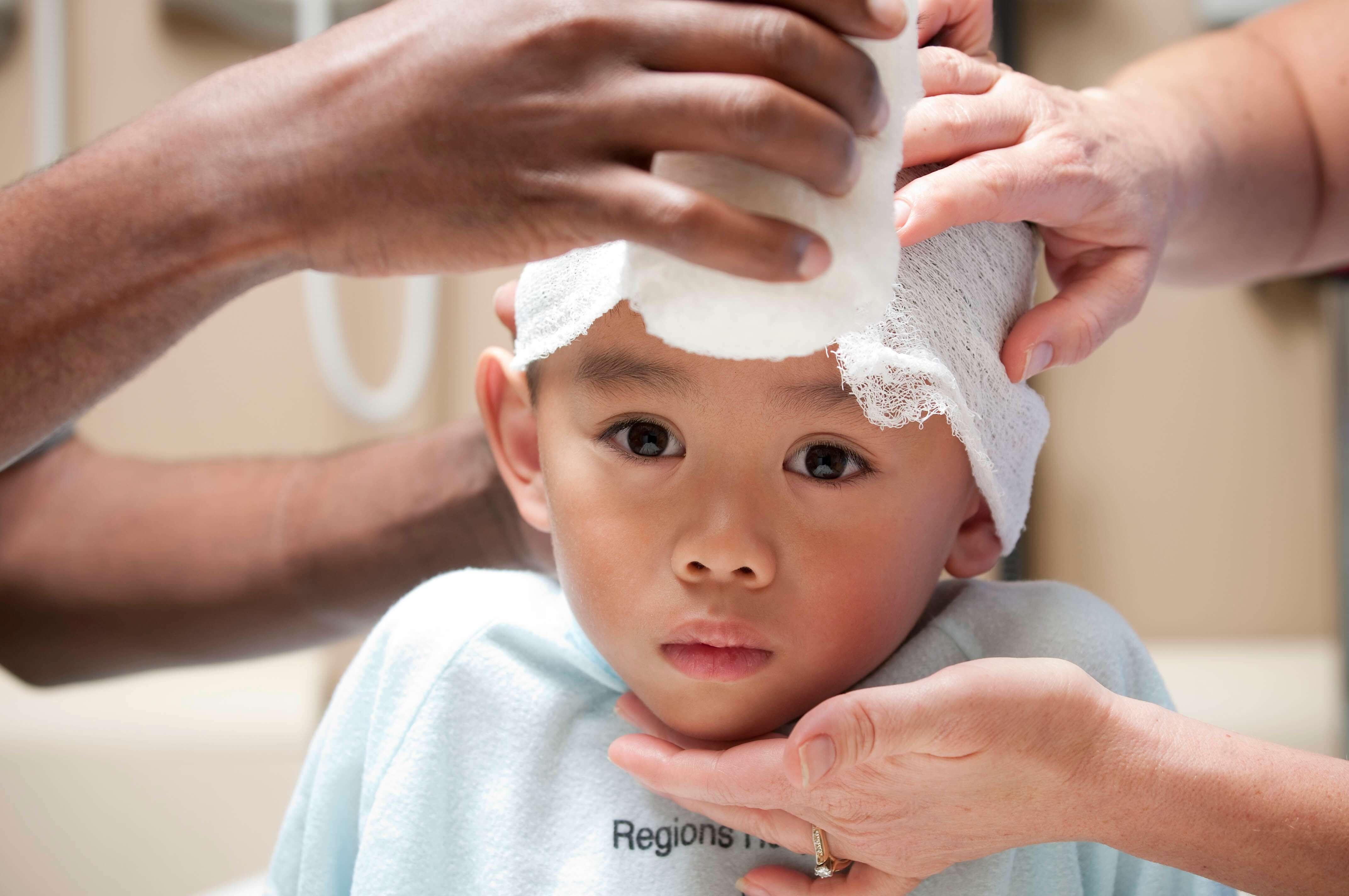 Фото ребенка без черепной коробки