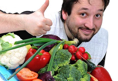Какие овощи есть при простатите