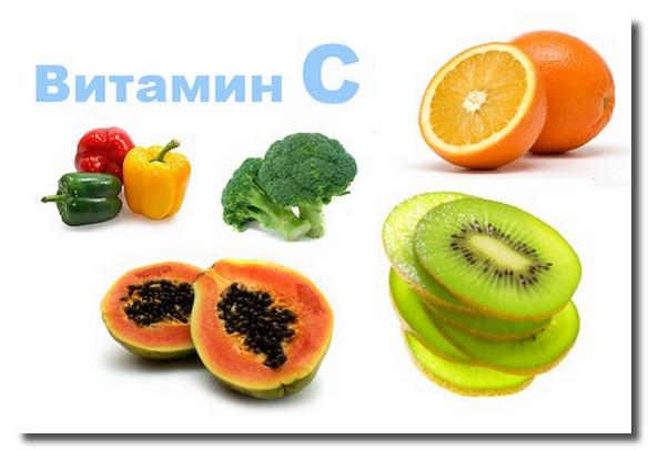витамин С в организме