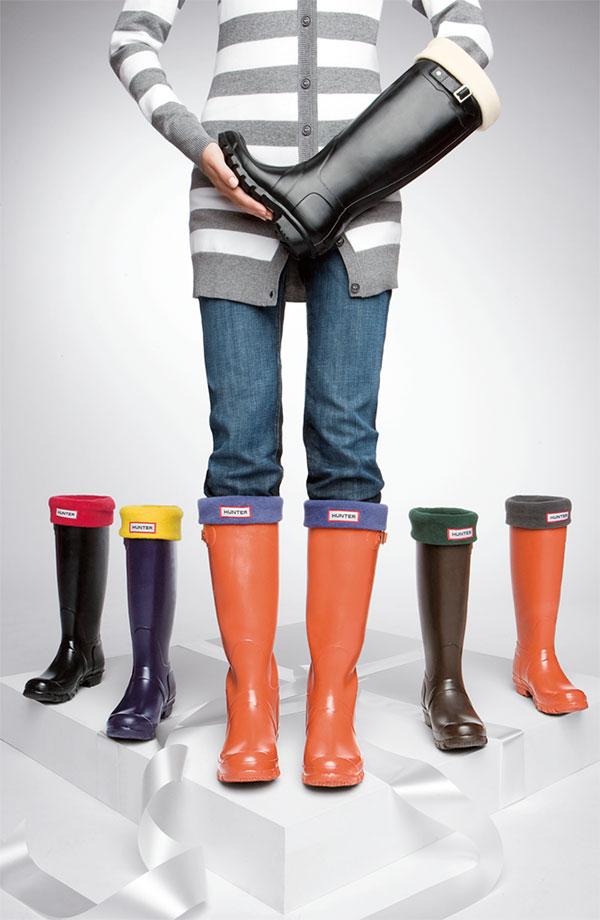 Hunter 'Fleece Welly' Socks Item 234092 $30 Nordstrom 001