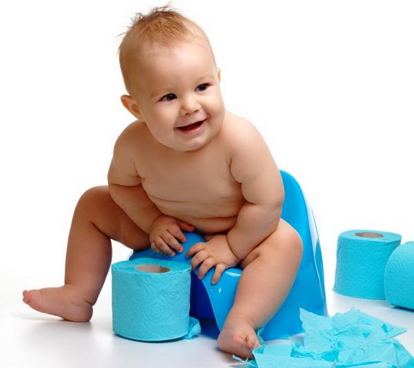 Особенности сбора кала у маленьких и грудных детей