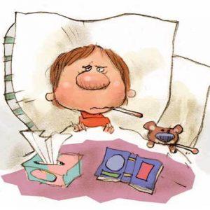 gripp intoksikacia