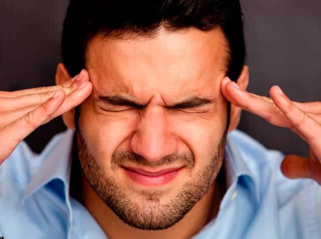Болит лобная часть головы и давит на глаза