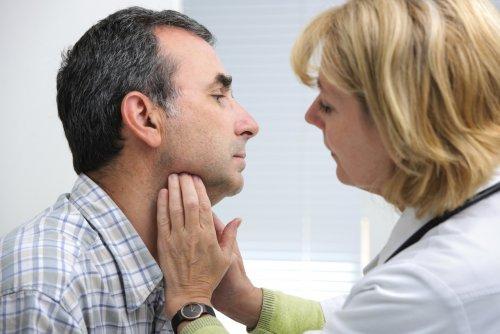 Рак щитовидной железы у мужчин симптомы лечение