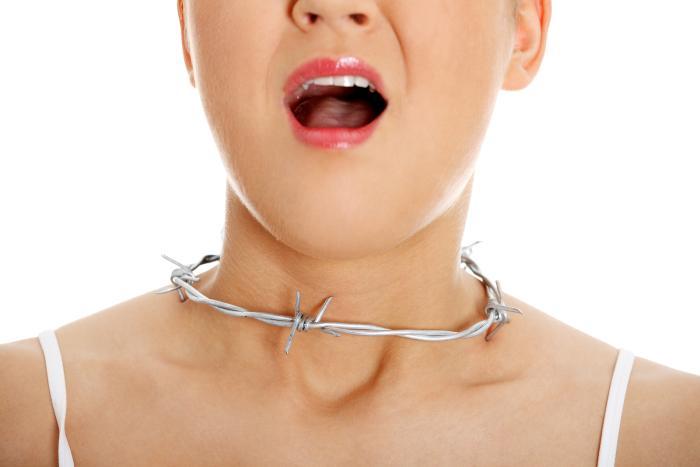 Инородное тело в гортани: симптомы, лечение и основания