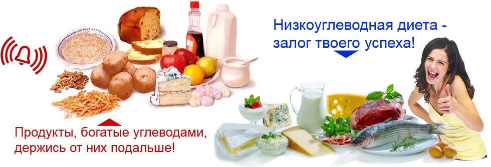 Низкоуглеводная диета нельзя есть