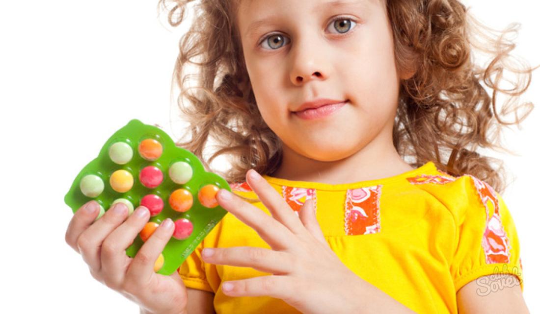 Какие витамины ребенку 3 года